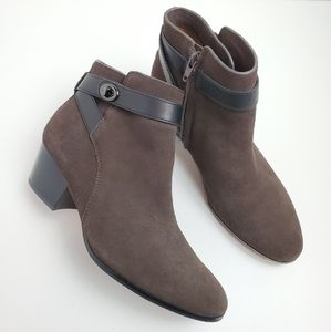 Coach Patricia Suede Ankle Boots